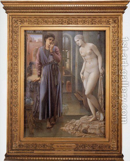 Pygmalion And The Image: II   The Hand Refrains by Sir Edward Coley Burne-Jones - Reproduction Oil Painting