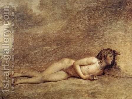 The Death Of Bara 1794 by Jacques Louis David - Reproduction Oil Painting