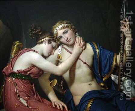 The Representative of the People on Duty 1794 by Jacques Louis David - Reproduction Oil Painting