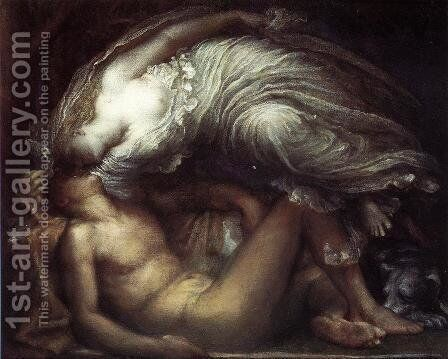Endymion by George Frederick Watts - Reproduction Oil Painting