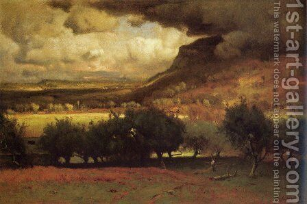 The Coming Storm by George Inness - Reproduction Oil Painting