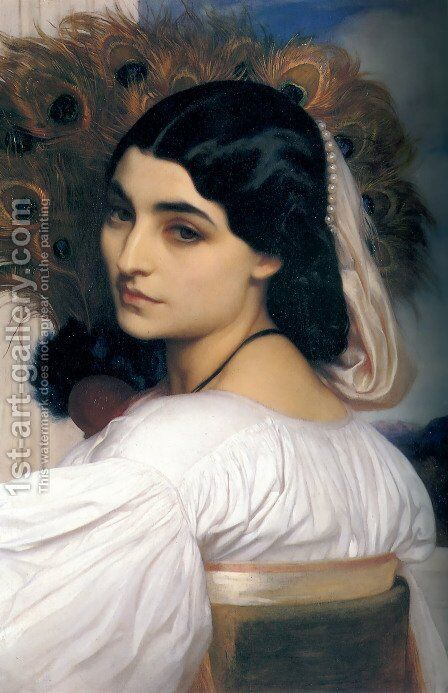 Pavonia by Lord Frederick Leighton - Reproduction Oil Painting