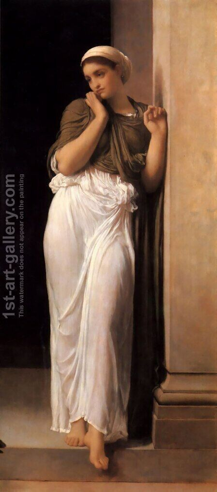 Nausicaa by Lord Frederick Leighton - Reproduction Oil Painting