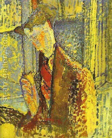Study For Portrait Of Frank HavilandStudy For Portrait Of Frank Haviland by Amedeo Modigliani - Reproduction Oil Painting