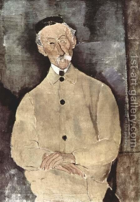 Monsieur Lepoutre by Amedeo Modigliani - Reproduction Oil Painting
