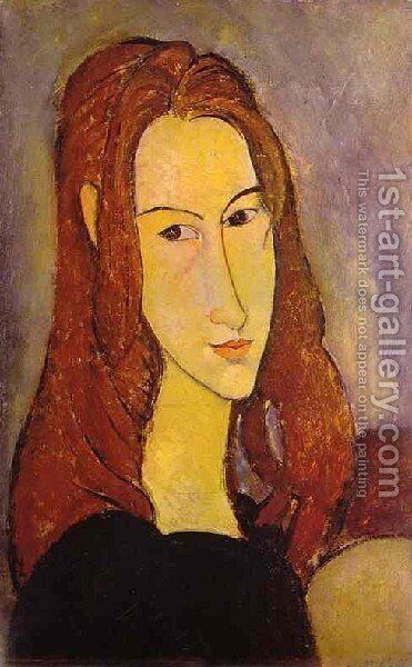 Portrait Of A Girl by Amedeo Modigliani - Reproduction Oil Painting
