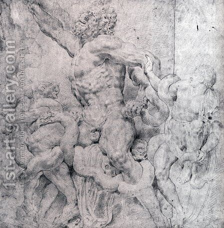 Laocoon And His Sons by Rubens - Reproduction Oil Painting