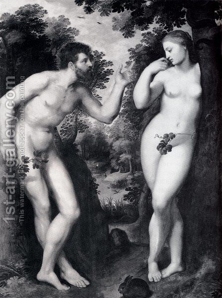 The Fall Of Man by Rubens - Reproduction Oil Painting