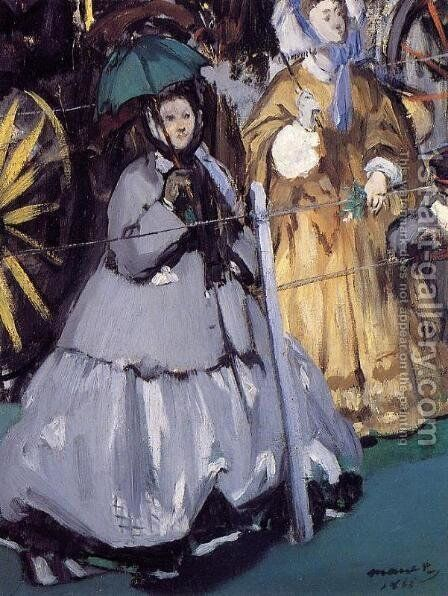 Women At The Races by Edouard Manet - Reproduction Oil Painting