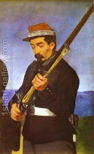 Soldier by Edouard Manet - Reproduction Oil Painting