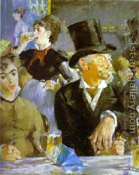 Bock Drinkers by Edouard Manet - Reproduction Oil Painting