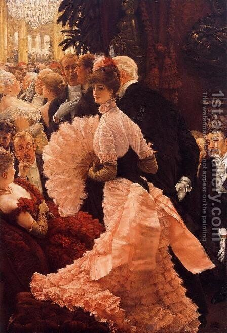 A Woman Of Ambition by James Jacques Joseph Tissot - Reproduction Oil Painting