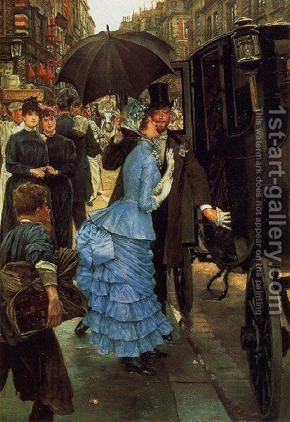 Jacques The Bridesmaid by James Jacques Joseph Tissot - Reproduction Oil Painting