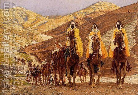 Journey Of The Magi by James Jacques Joseph Tissot - Reproduction Oil Painting