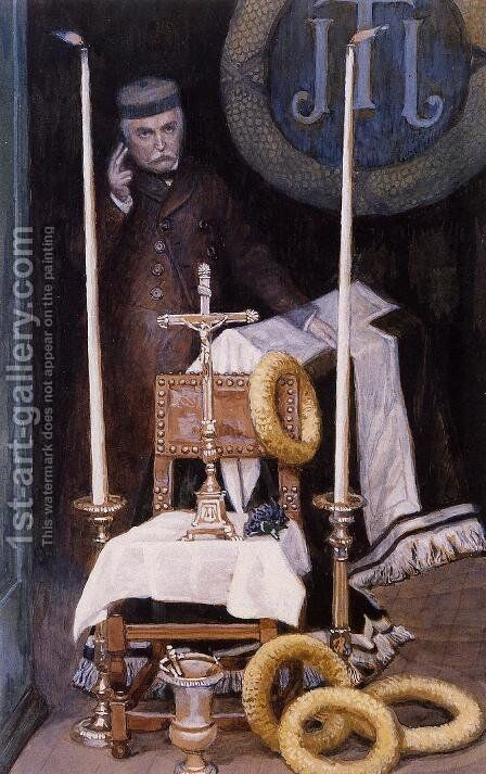 Portrait Of The Pilgrim by James Jacques Joseph Tissot - Reproduction Oil Painting