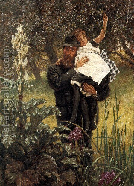 The Widower by James Jacques Joseph Tissot - Reproduction Oil Painting
