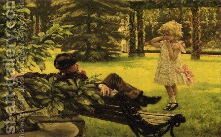 Uncle Fred by James Jacques Joseph Tissot - Reproduction Oil Painting