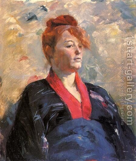 Madame Lili Grenier by Toulouse-Lautrec - Reproduction Oil Painting