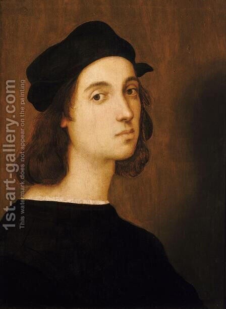 Self Portrait by Raphael - Reproduction Oil Painting