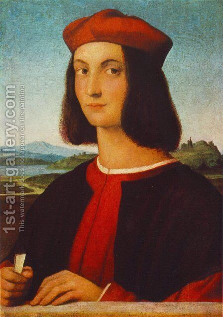 Portrait Of Pietro Bembo by Raphael - Reproduction Oil Painting