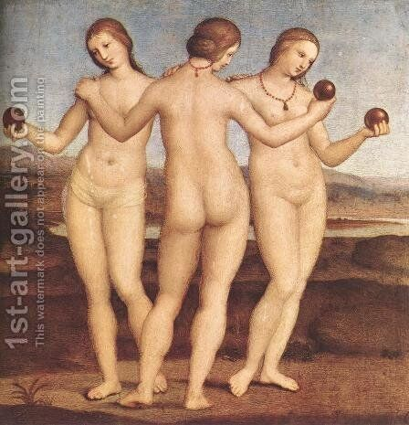 The Three Graces by Raphael - Reproduction Oil Painting