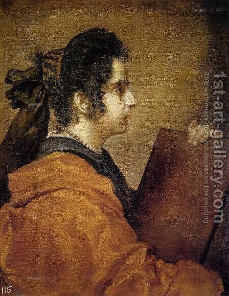 A Sibyl by Velazquez - Reproduction Oil Painting