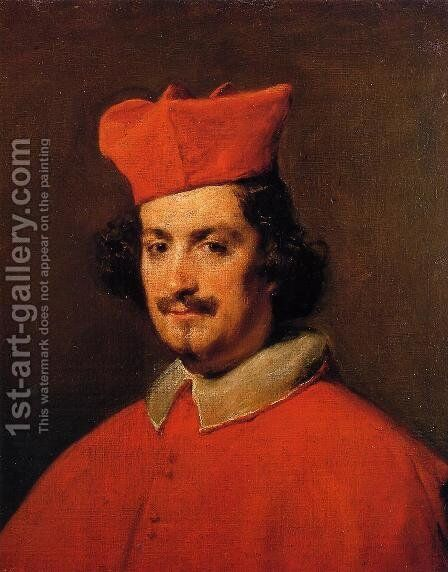 Cardinal Camillo Astalli by Velazquez - Reproduction Oil Painting
