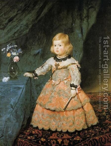 Infanta Marguarite Therese by Velazquez - Reproduction Oil Painting