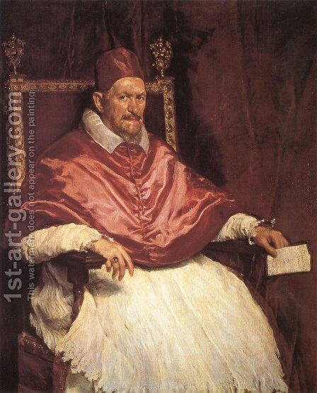 Innocent X by Velazquez - Reproduction Oil Painting