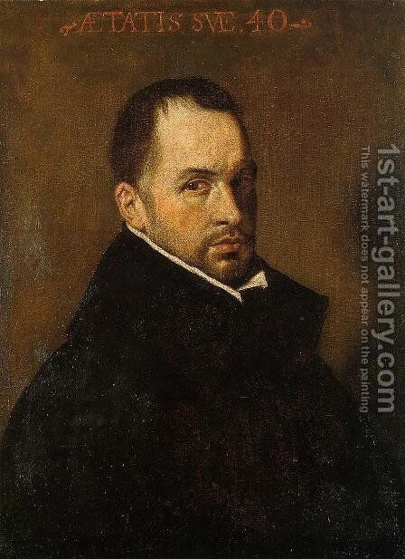 Portrait Of A Cleric by Velazquez - Reproduction Oil Painting