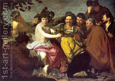 The Drunkards by Velazquez - Reproduction Oil Painting