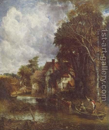 The Valley Farm by John Constable - Reproduction Oil Painting