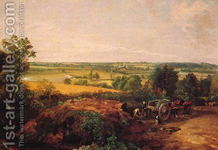 View Of Dedham by John Constable - Reproduction Oil Painting