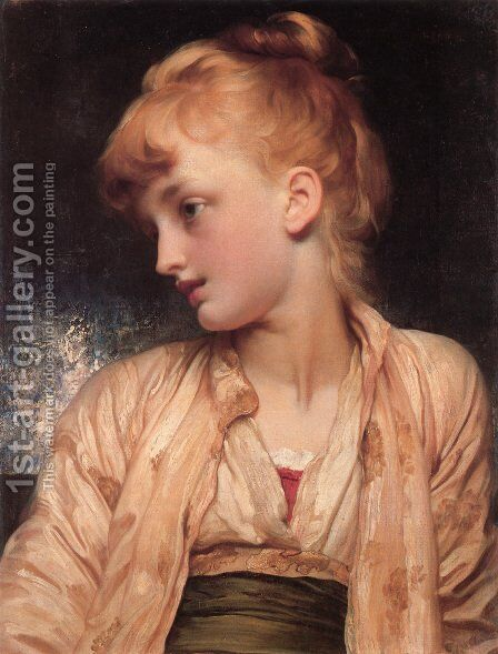 Gulnihal by Lord Frederick Leighton - Reproduction Oil Painting