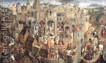 Scenes From The Passion Of Christ by Hans Memling - Reproduction Oil Painting