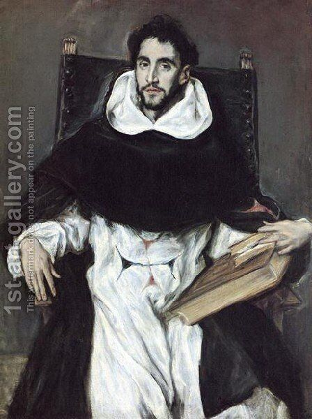 Portrait Of Fray Felix Hortensio Paravicino by El Greco - Reproduction Oil Painting
