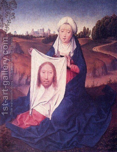 St  Veronica by Hans Memling - Reproduction Oil Painting