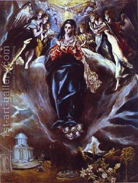The Immaculate Conception by El Greco - Reproduction Oil Painting