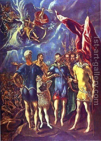 The Martyrdom Of St  Maurice Ii by El Greco - Reproduction Oil Painting