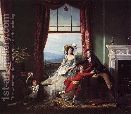 The Stillwell Family by John Singleton Copley - Reproduction Oil Painting