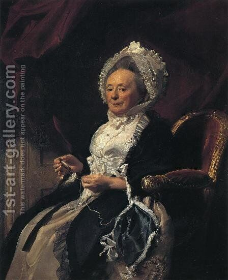 Mrs  Seymour Fort by John Singleton Copley - Reproduction Oil Painting
