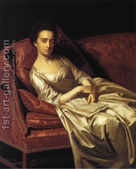 Portrait Of A Lady by John Singleton Copley - Reproduction Oil Painting