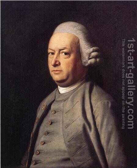 Portrait Of Thomas Flucker by John Singleton Copley - Reproduction Oil Painting