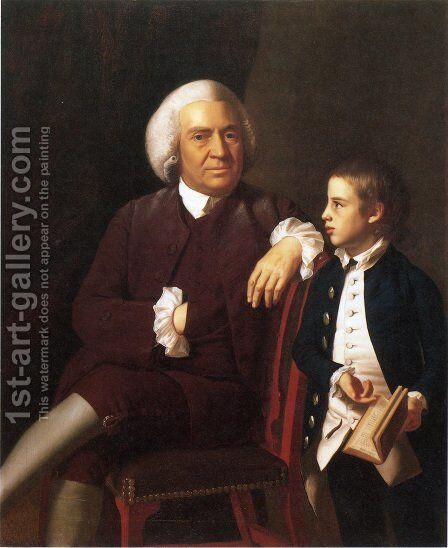 William Vassall And His Son Leonard by John Singleton Copley - Reproduction Oil Painting