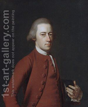 Samuel Verplanck by John Singleton Copley - Reproduction Oil Painting