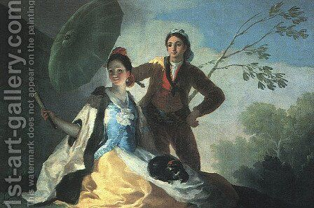 The Parasol by Goya - Reproduction Oil Painting