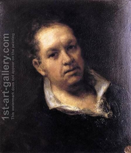 Self Portrait by Goya - Reproduction Oil Painting