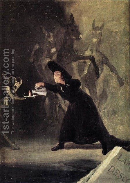 The Bewitched Man by Goya - Reproduction Oil Painting