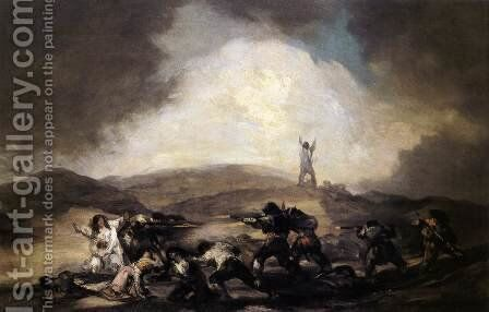 Robbery by Goya - Reproduction Oil Painting