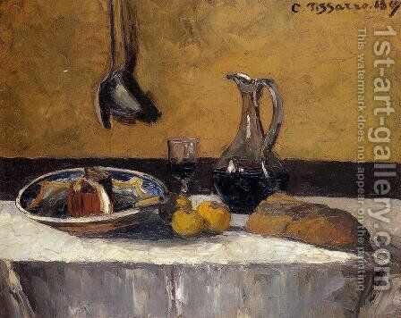 Still Life by Camille Pissarro - Reproduction Oil Painting